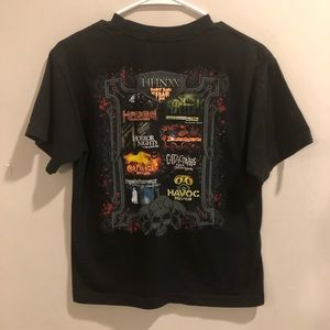 Halloween horror nights 20 graphic t shirt black